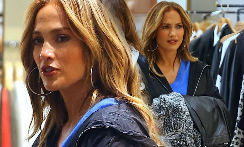 "Jennifer Lopez na planie ""Second Act"""
