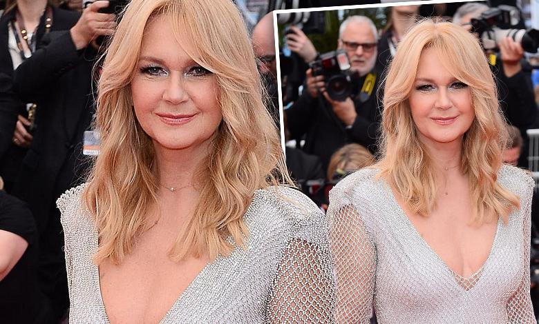 Grażyna Torbicka na czerwonym dywanie - Cannes 2018