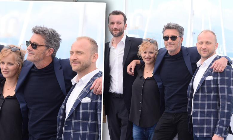 """Joanna Kulig, Tomasz Kot, Paweł Pawlikowski, Borys Szyc - konferencja prasowa """"Zimnej Wojny"""", Cannes 2018"""