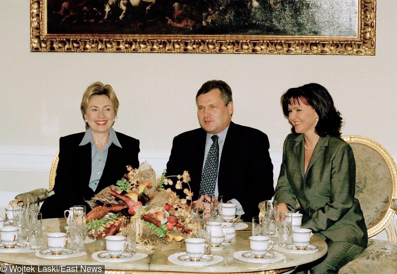 Jolanta Kwaśniewska i Hillary Clinton (1996)