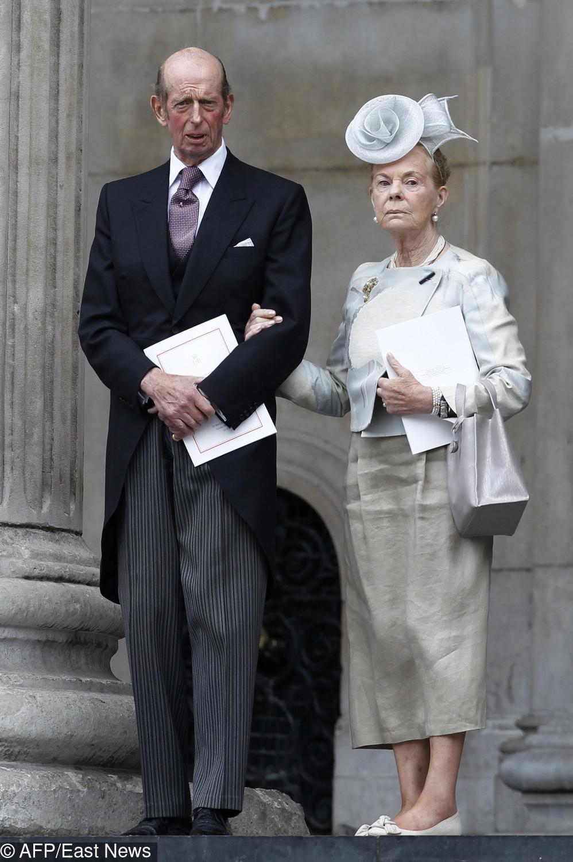 Księżna Katherine i ksiażę Edward