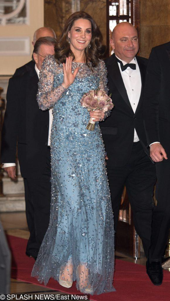 Księżna Kate na gali Royal Variety Performance