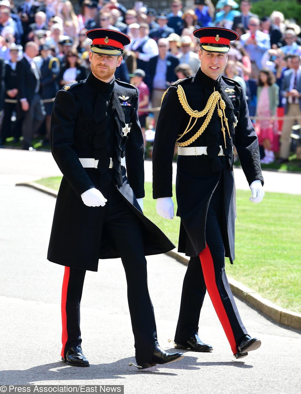 Książę Harry i książę William (ślub księcia Harry'ego i Meghan Markle)