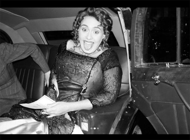 Adele urządziła przyjęcie tematyczne z