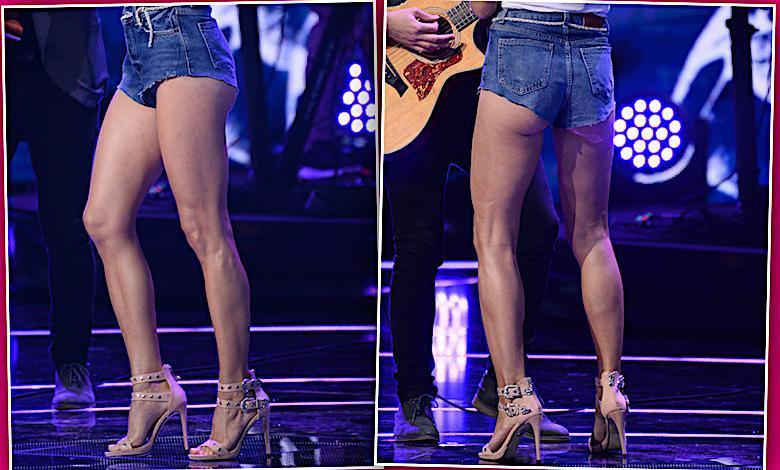 ania Wyszkoni nogi
