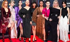 Kreacje gwiazd na gali Billboard Music Awards 2018: Jennifer Lopez, Taylor Swift, Christina Aguilera, Dua Lipa, Camila Cabello