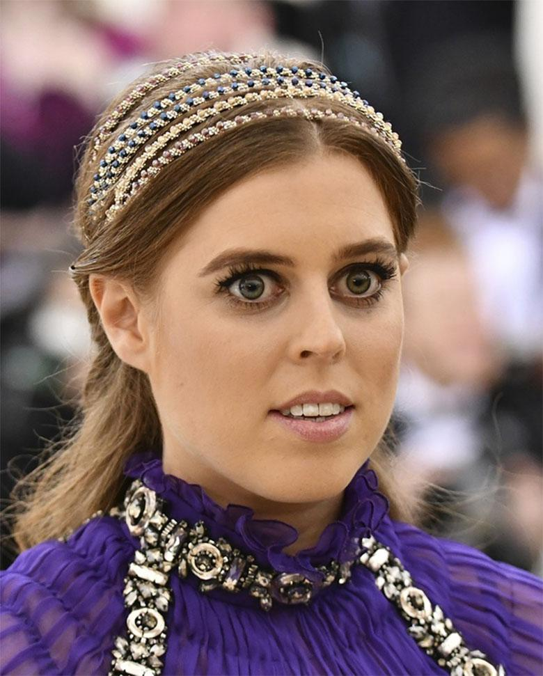 księżniczka Beatrice – MET Gala 2018