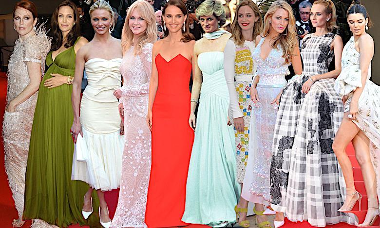 Cannes, najpiękniejsze kreacje wszech czasów
