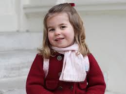 Księżniczka Charlotte w pierwszym dniu szkoły