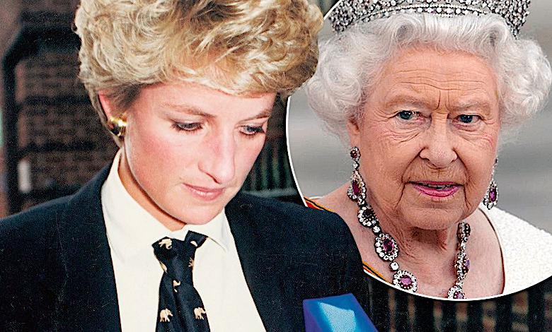 Księżna Diana, królowa Elżbieta II, ciąża