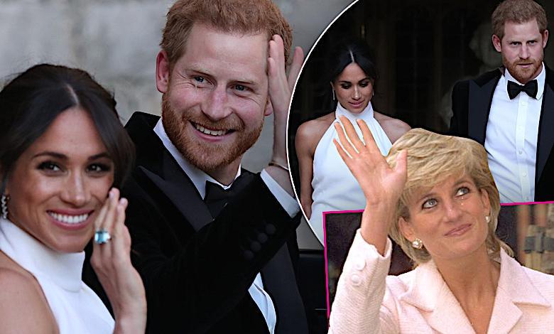 Meghan Markle druga suknia ślubna, księżna Diana, książę Harry