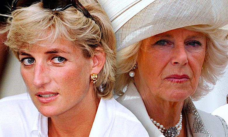 Księżna Diana i księżna Camilla