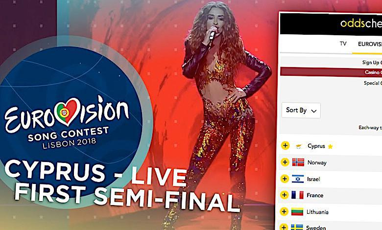 Eleni Foureira z Cypru wygra Eurowizję 2018?