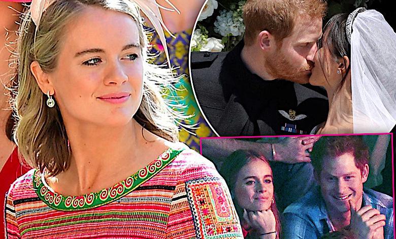 Była dziewczyna księcia Harry'ego odważnie skomentowała jego ślub z Meghan Markle! Będzie skandal?