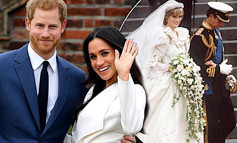 Harry I Meghan ślub Jak U Diany I Karola Jastrząb Post