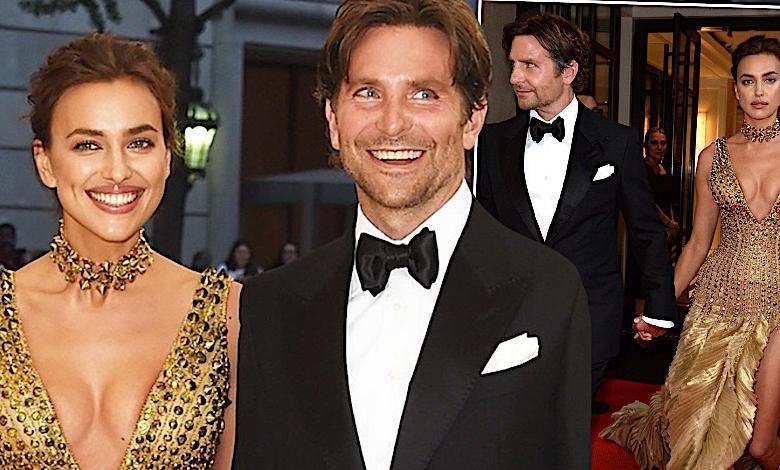 Irina Shayk i Bradley Cooper na MET Gala 2018