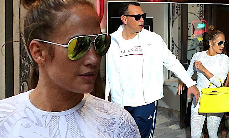 Jennifer Lopez i Alex Rodriguez na siłowni
