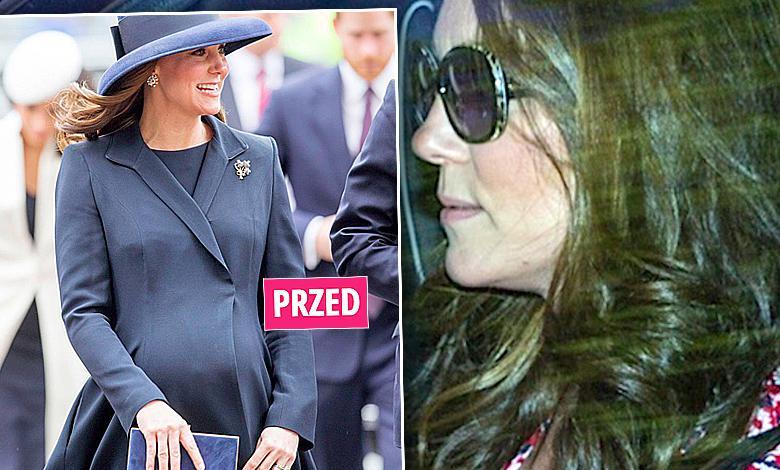 Księżna Kate po porodzie. Pierwsze zdjęcia