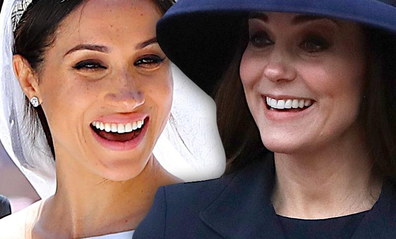 Meghan Markle wręczyła księżnej Kate prezent
