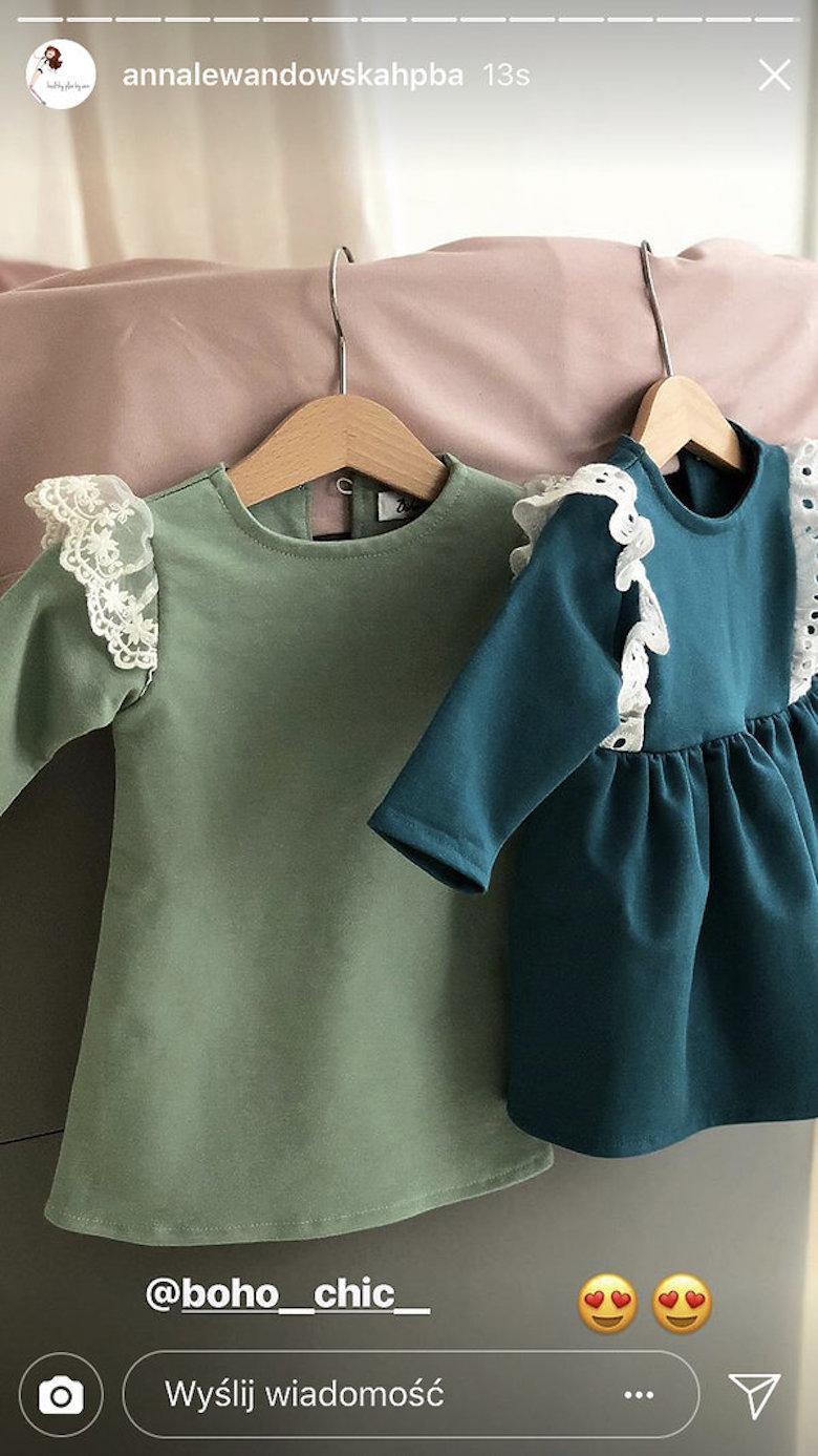 Sukienki Boho Chic dla Klary Lewandowskiej