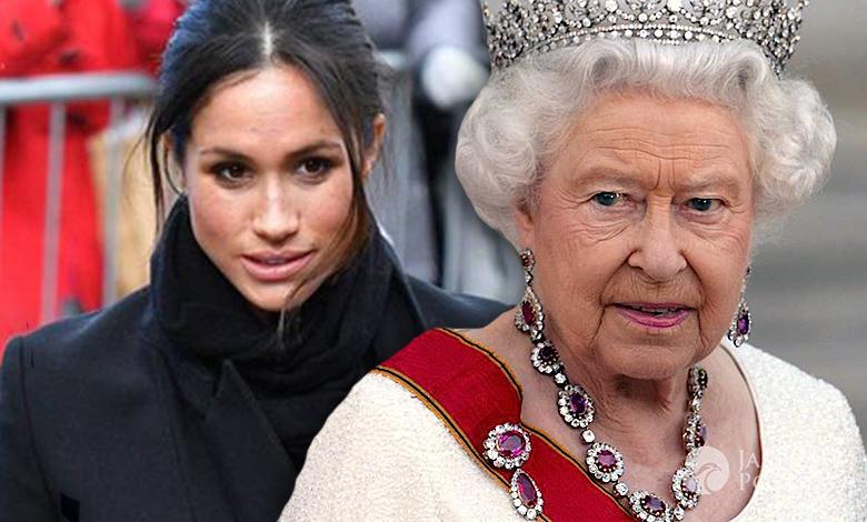 Królowa Elżbieta II Meghan Markle