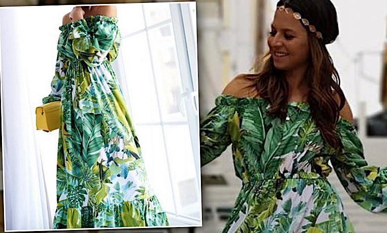Anna Lewandowska wskoczyła w tanią sukienkę polskiej marki! Wygląda w niej jak milion dolarów!