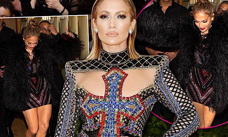 Jennifer Lopez pijana po MET Gala 2018