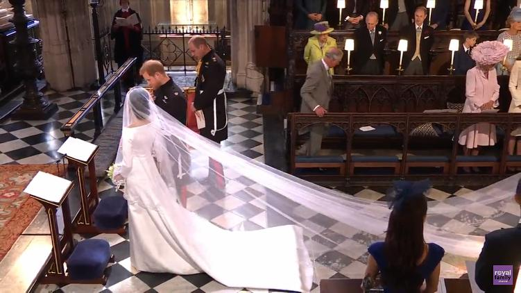 Meghan Markle w sukni ślubnej