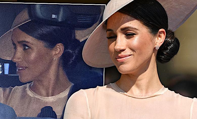 Meghan Markle pokazała się pierwszy raz po ślubie. Wyglądała jak księżna Kate! Można się pomylić!