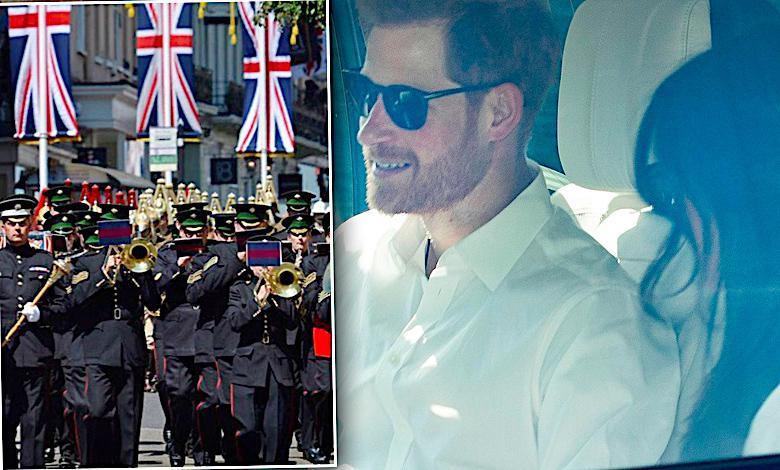 Meghan Markle, książę Harry, pierwsza próba przed ślubem