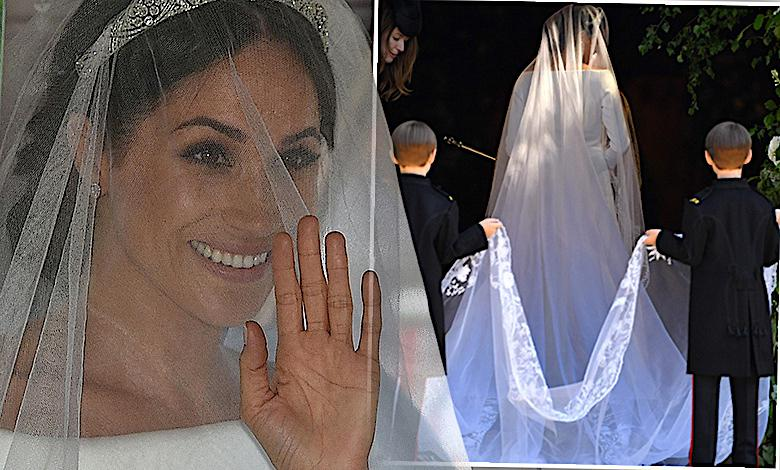 Meghan Markle w sukni ślubnej Givenchy