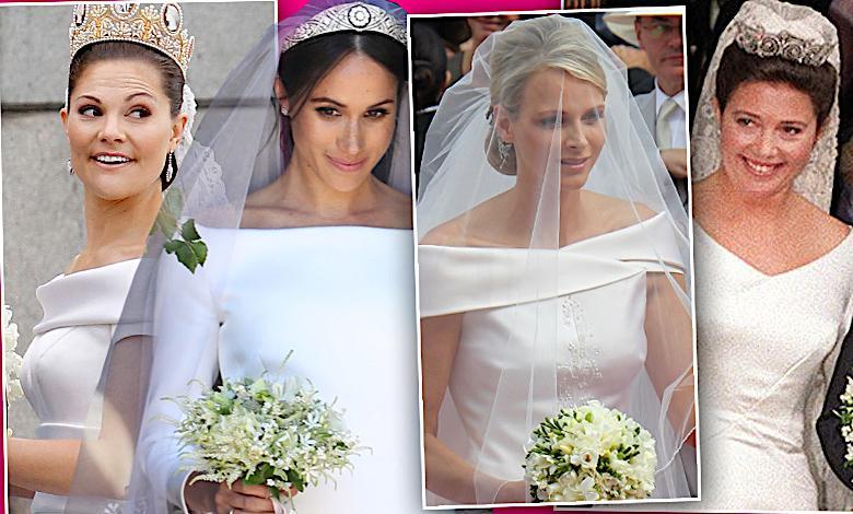 Meghan Markle nie była pierwsza! Te księżniczki też miały suknie ślubne od Givenchy!