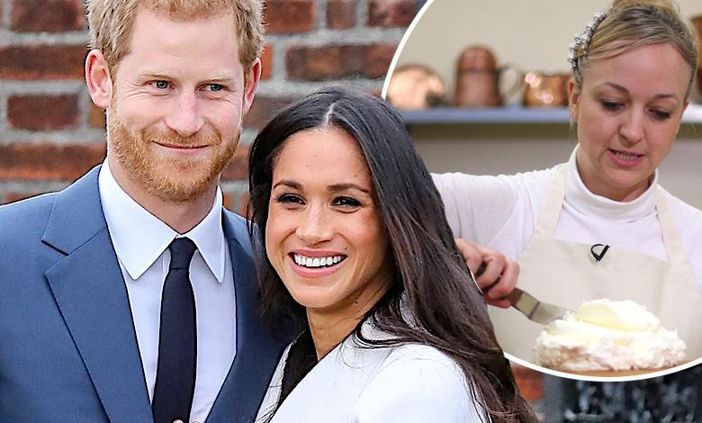 Claire Ptak przygotowuje tort weselny dla Meghan Markle i księcia Harry'ego