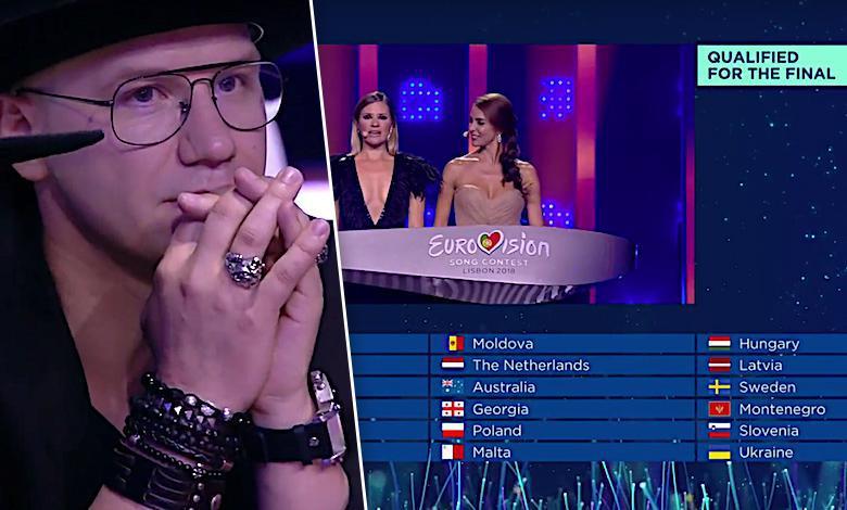 Eurowizja 2018 drugi półfinał wyniki Polska