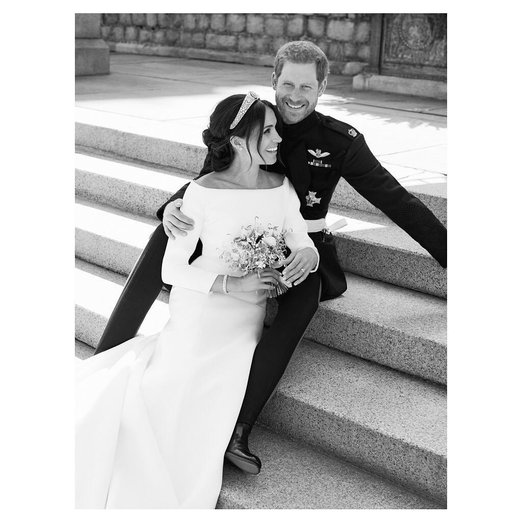 Ślubna sesja Meghan Markle i księcia Harry'ego