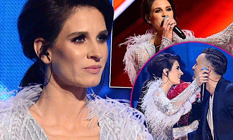 Sopot 2018: Zapłakana Sylwia Grzeszczak w objęciach Libera zdeklasowała wszystkie gwiazdy! Pięknie zaśpiewała i opowiedziała o swojej córce!
