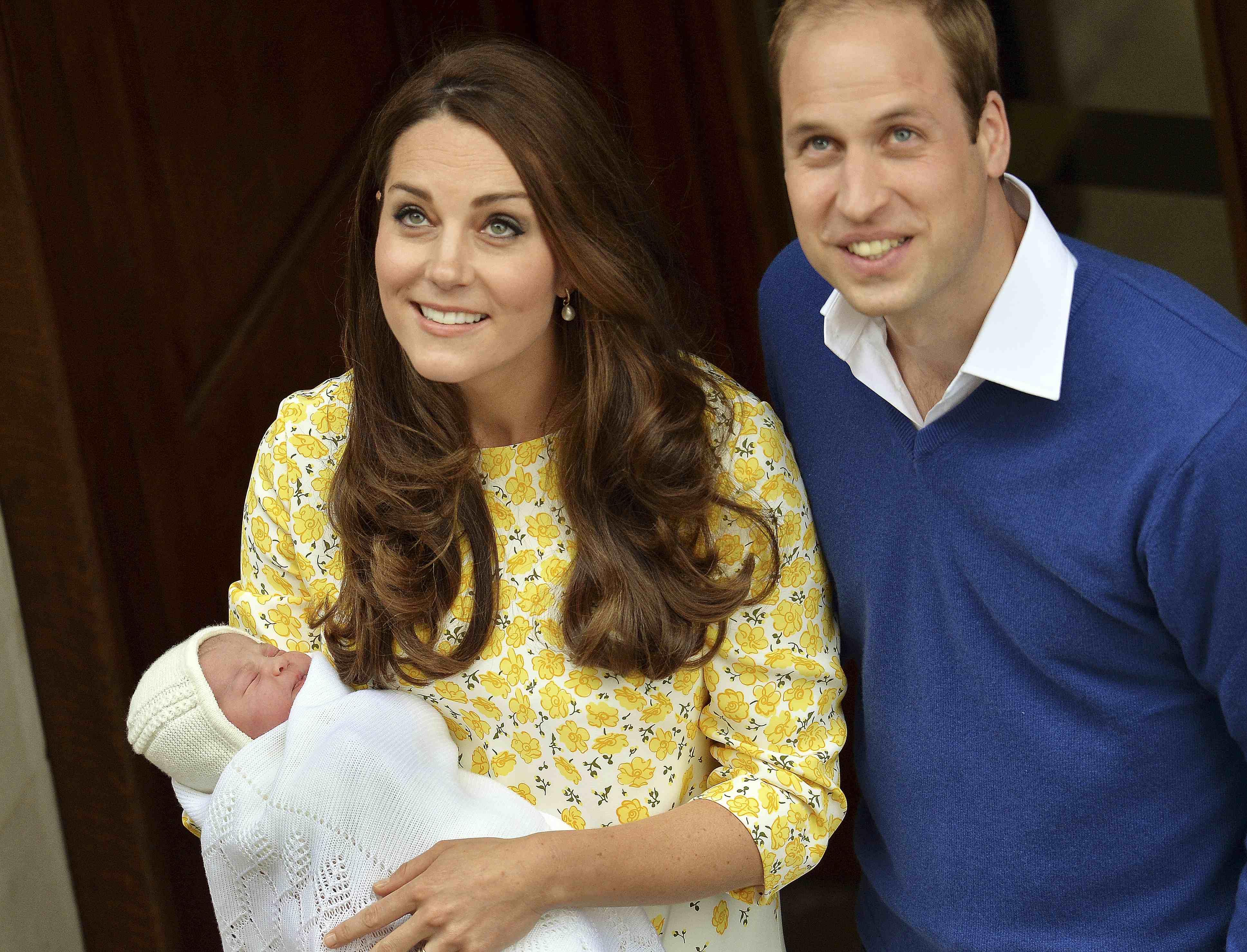 Księżniczka Charlotte w dniu swoich narodzin