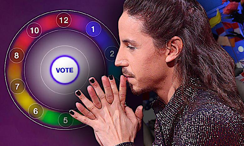 Michał Szpak głosy na Eurowizji 2018