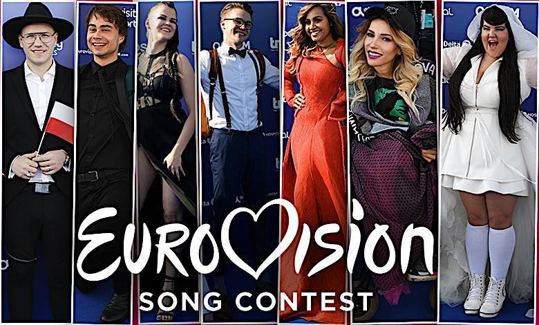 Eurowizja 2018, faworyci, kandydaci na niebieskim dywanie