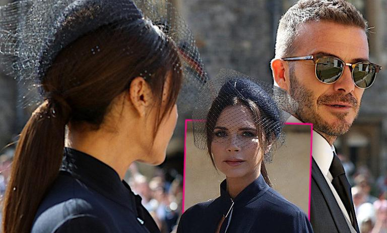 Victoria Beckham David ślub Harry Meghan