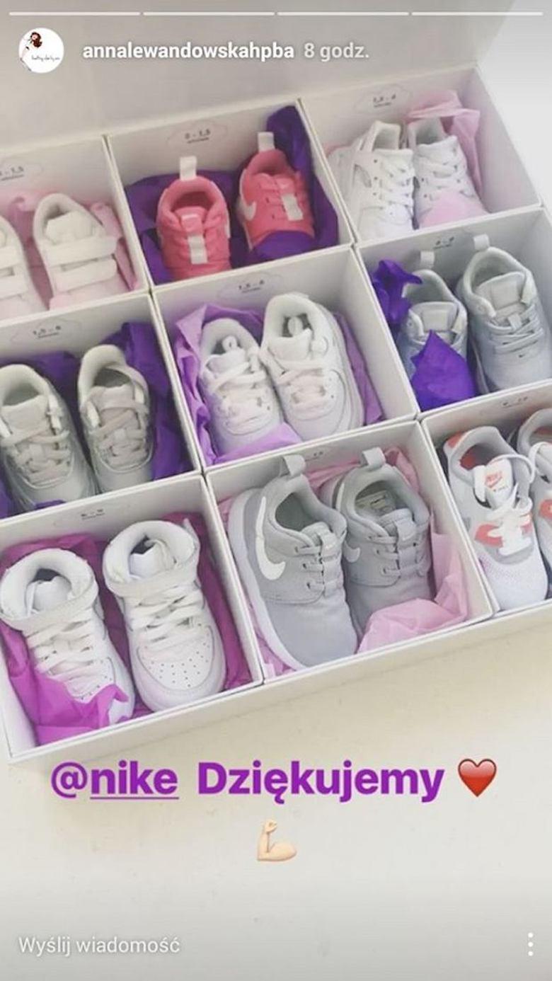 Kolekcja butów Nike Klary Lewandowskiej