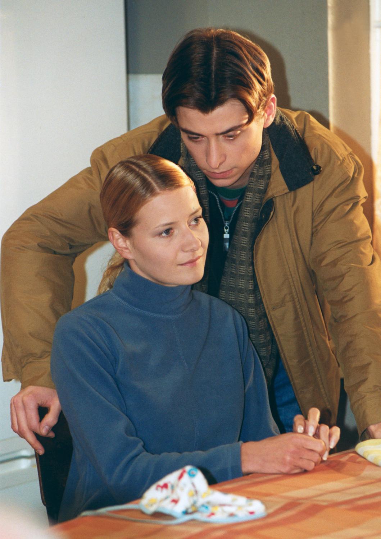Kacper Kuszewski i Małgorzata Kożuchowska w M jak miłość