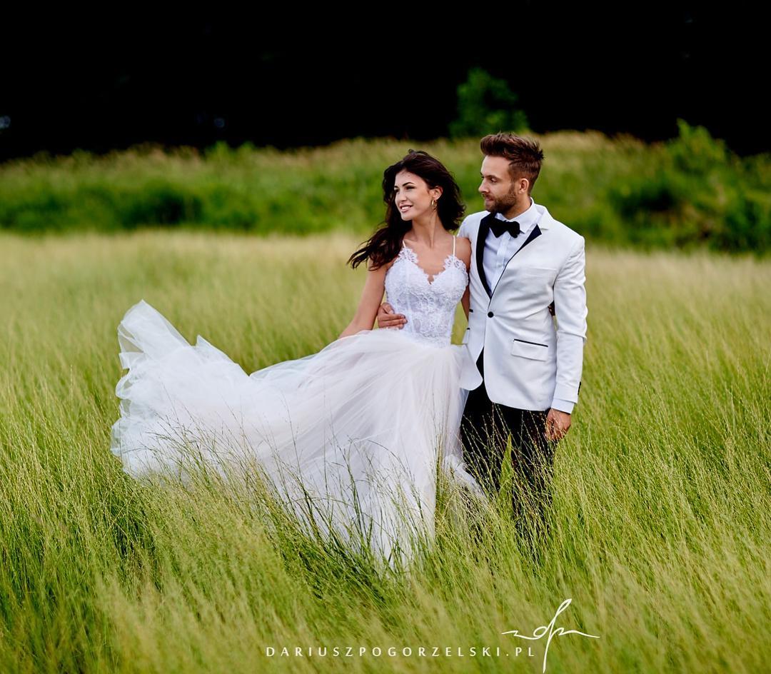 Ślubna sesja Ewy Milenickiej. Druga suknia