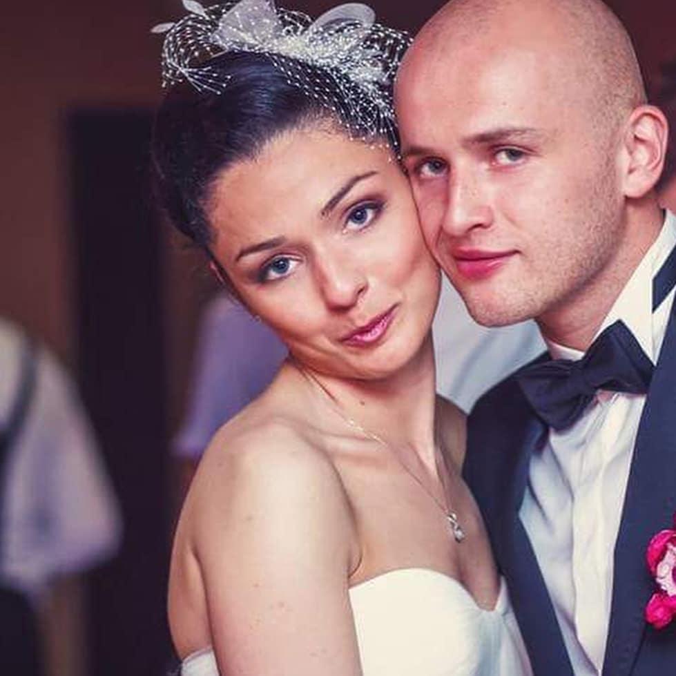 Michał Pazdan i Dominika Pazdan świętują 5 rocznicę swojego ślubu