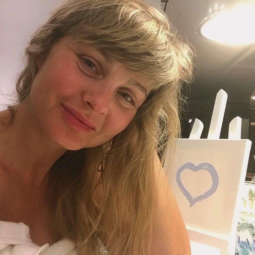 Małgorzata Socha bez makijażu