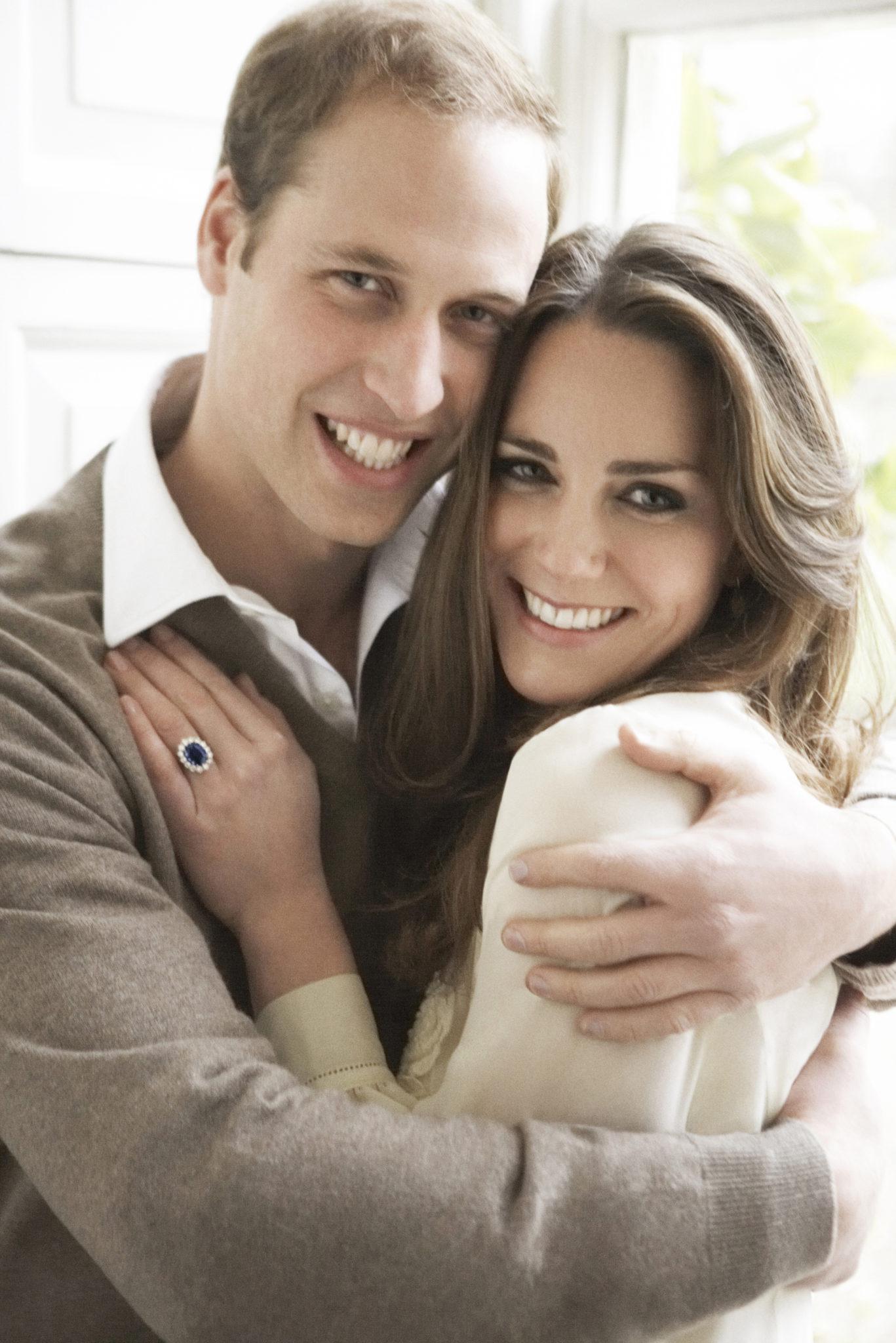Książę William i księżna Kate w 2010 roku