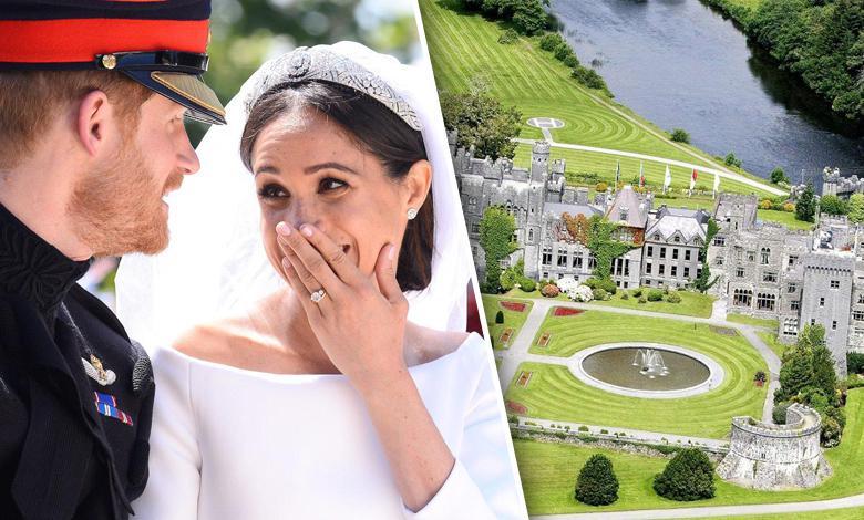 Meghan Markle i książę Harry wypoczywają w zamku Ashford