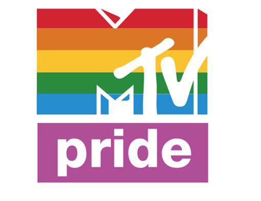 MTV Pride – logo MTV Polska na czas Parady Równości