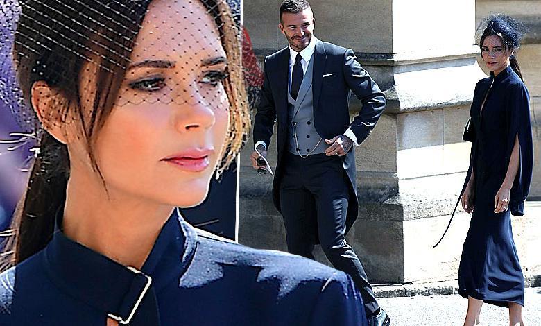 David i Victoria Beckhamowie stroje ze ślubu