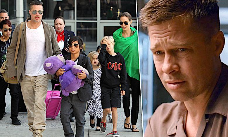 Angelina Jolie nie będzie zadowolona. Wydało się, co Brad Pitt mówi na jej temat dzieciom